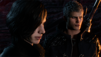 DMC5 cutscene - Prologue-Scene 01