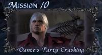 DMC4 SE cutscene - Dante's Party Crashing