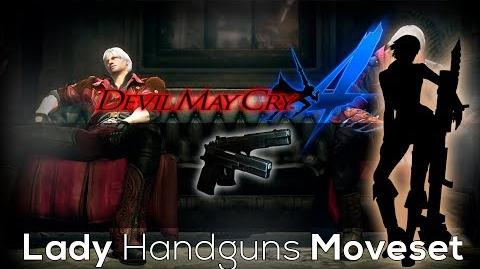 Devil May Cry 4 Special Edition Lady Handguns Moveset