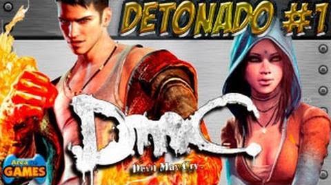 DMC Devil May Cry Detonado parte 1 (O Achado) PC BR