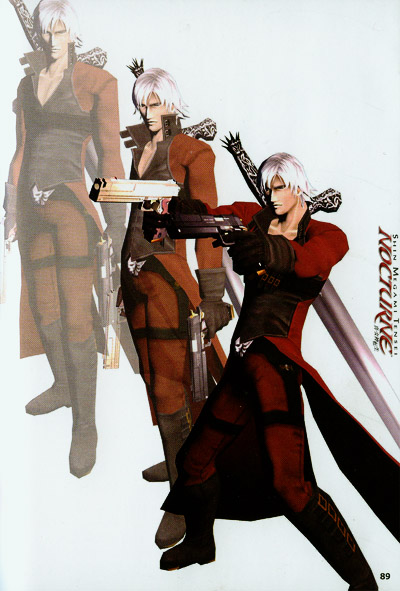 Dante Devil May Cry Wiki Fandom