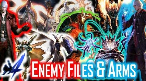 Enemy Files and Arms - Devil May Cry 4 Special Edition PS3 PS4 Xbox One