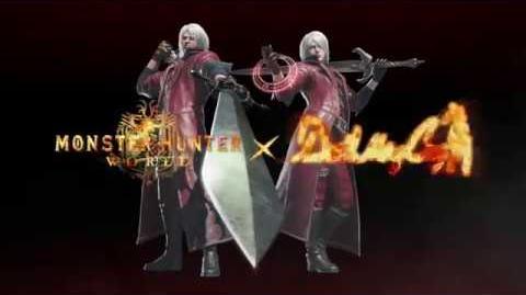 Devil May Cry - Evento de colaboración con Monster Hunter World