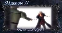 DMC4 SE cutscene - Nero and Kyrie