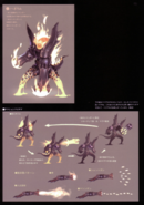 Devil May Cry 4 Devil's Material Collection Berial concept art 3