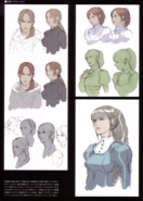 Devil May Cry 4 Devil's Material Collection Kyrie concept art 4