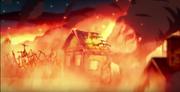 Incendio de Morris Island