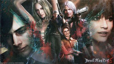 Devil May Cry 5 Wallpaper (Joshin, PC)