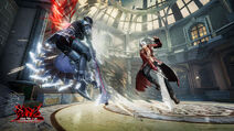 Devil May Cry Pinnacle of Combat - Game screen under development (1)