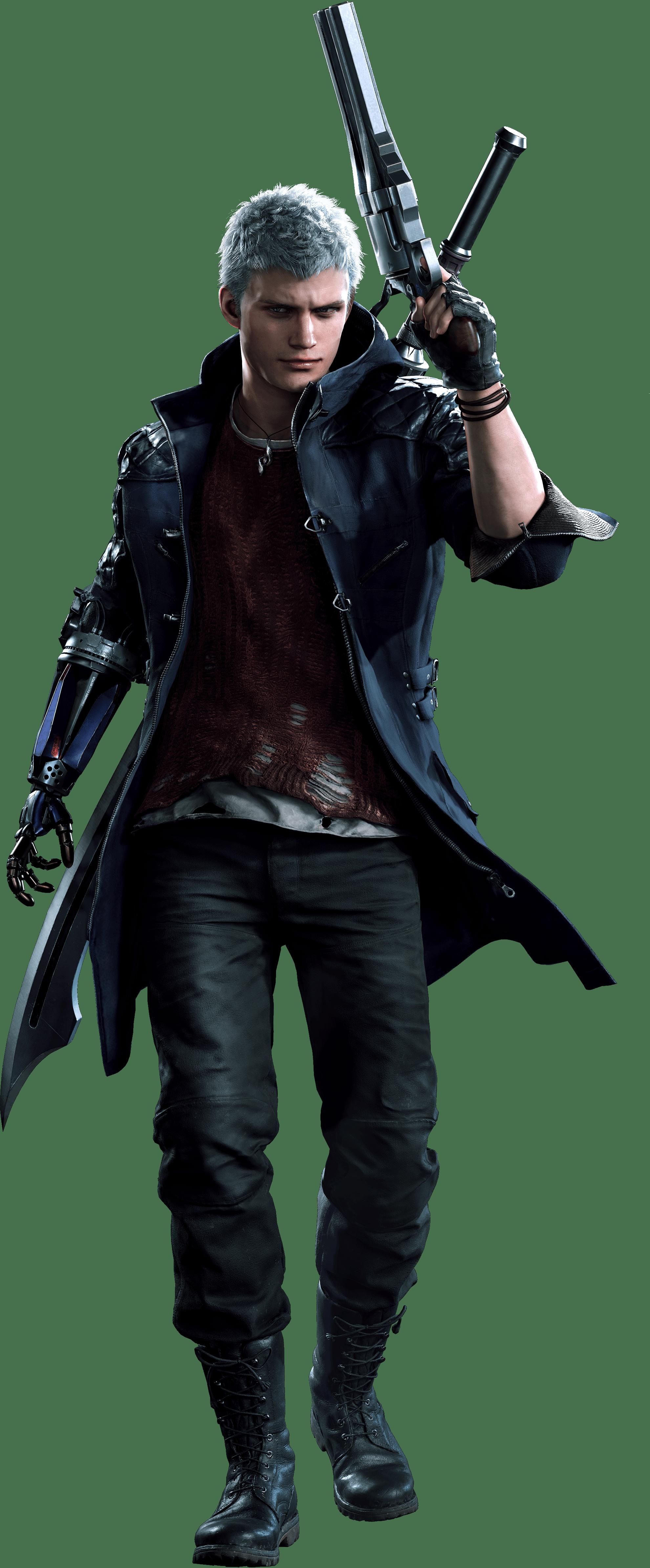 Devil May Cry Nero Concept Art