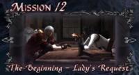 DMC4 SE cutscene - The Beginning - Lady's Request