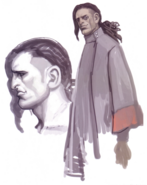 Devil May Cry 4 Devil's Material Collection Agnus concept art 5