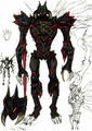 DMC2 True Devil form idea sketch Ikeno 3142