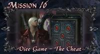 DMC4 SE cutscene - Dice Game - The Cheat