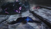 DMC5 Nightmare Shadow Griffon Dying