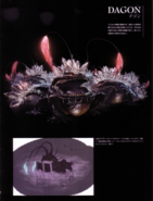 Devil May Cry 4 Devil's Material Collection Dagon concept art