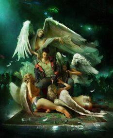 DmC Dante with angels