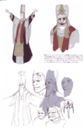 Devil May Cry 4 Devil's Material Collection Sanctus concept art 4