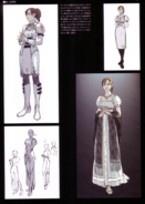 Devil May Cry 4 Devil's Material Collection Kyrie concept art 3