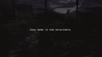 Easy Mode Is Now Selectable