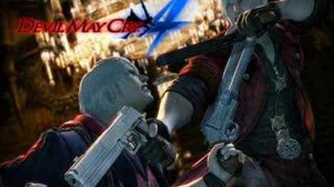 Devil May Cry 4 - Blackened Angel (Dante Battle 1)-1430889153