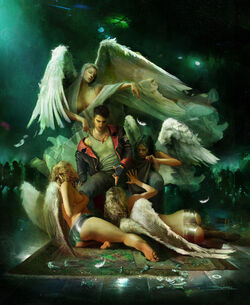 Dante with Angels