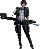 EX Lady render