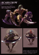 Devil May Cry 4 Devil's Material Collection Scarecrow concept art 1
