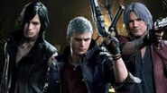 DMC5, All M13 cutscenes (English ver