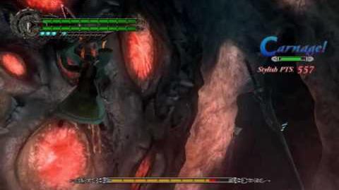 Devil May Cry 4 Devil Bringer- Buster on Enemies
