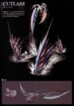 Devil May Cry 4 Devil's Material Collection Cutlass concept art 1