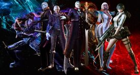 Devil may cry 4 special edition costumes
