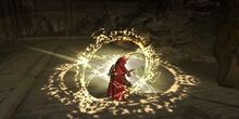 Flashing Circles