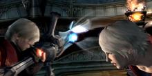 Nero duels Dante