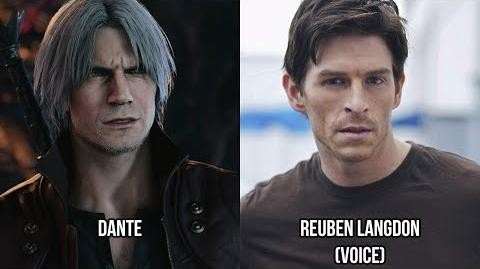 Characters and Voice Actors - Devil May Cry 5 (English and Japanese)