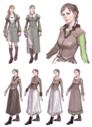 Devil May Cry 4 Devil's Material Collection Kyrie concept art 6