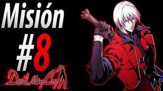"""Devil May Cry 1 HD Español Misión 8 """"El Caballero Legendario Retorna"""""""