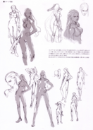 Devil May Cry 4 Devil's Material Collection Trish concept art