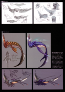 Devil May Cry 4 Devil's Material Collection Cutlass concept art 2