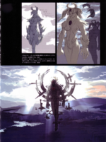 Devil May Cry 4 Devil's Material Collection The Savior concept art 4