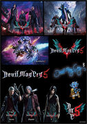 DMC5 Japan sticker PV