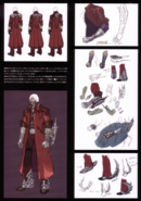 Devil May Cry 4 Devil's Material Collection Gilgamesh concept art