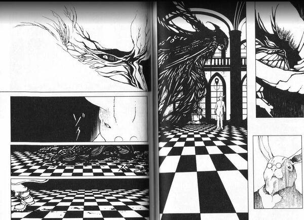 DMC 3 Manga doublepage
