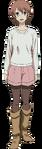 Tsukasa Taira - Anime - Cuerpo Completo