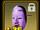 Noh Mask (Purple)