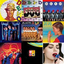DEVO albums grid