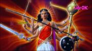 Eight-Armed Goddess Shakti Ready To Destroy Creation