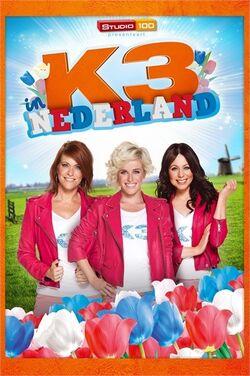 K3 in Nederland DVD