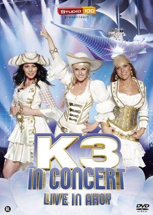 K3 DVD LiveAhoy