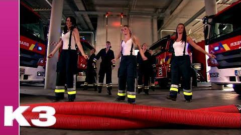 Meiden van de brandweer